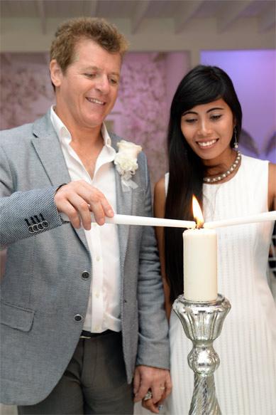 unity candle catholic wedding