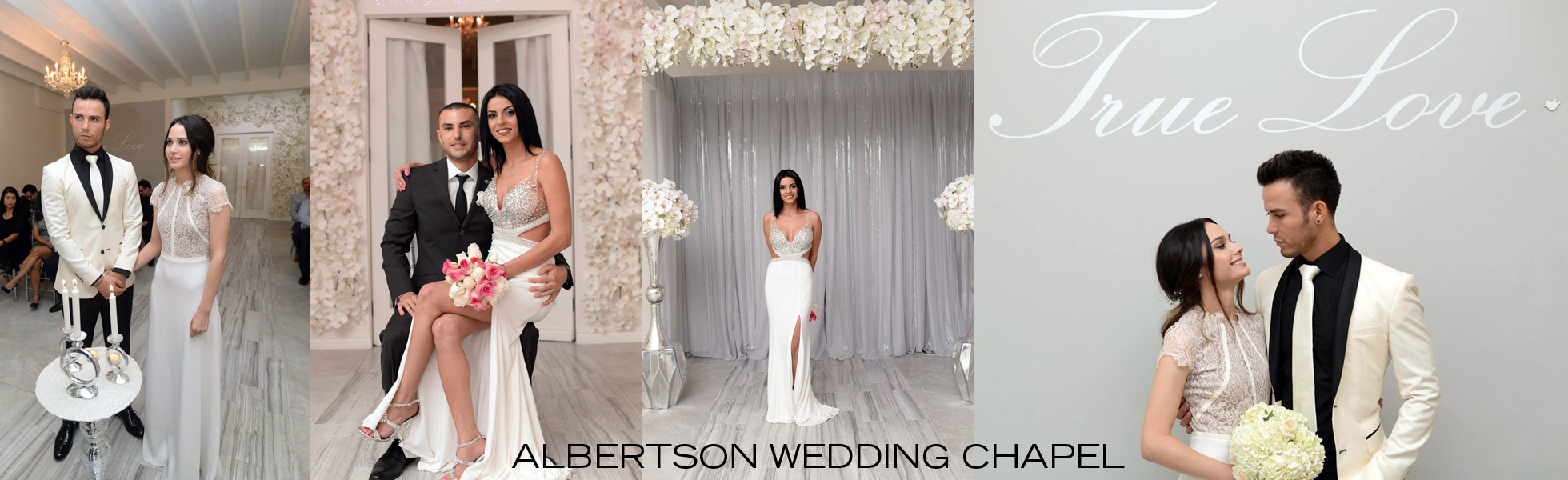 contact us at Albertson wedding chapel