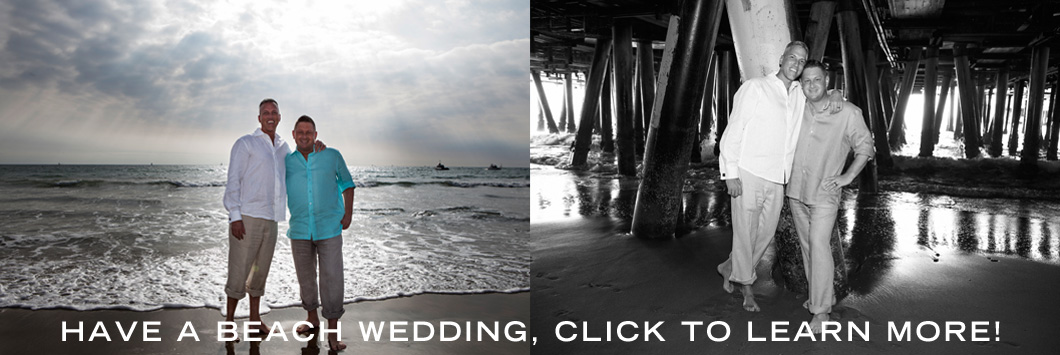Same Sex beach Weddings