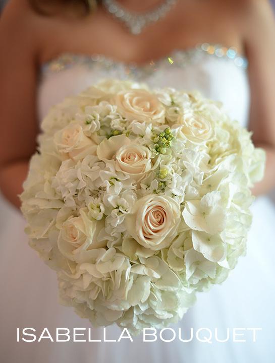 wedding bouquets at Albertson Chapel