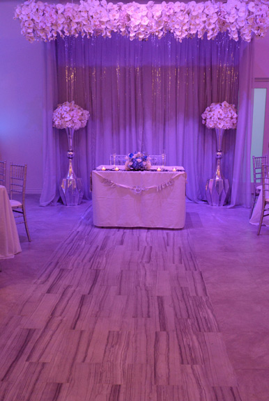 WEDDING RECEPTIONS FROM $7495