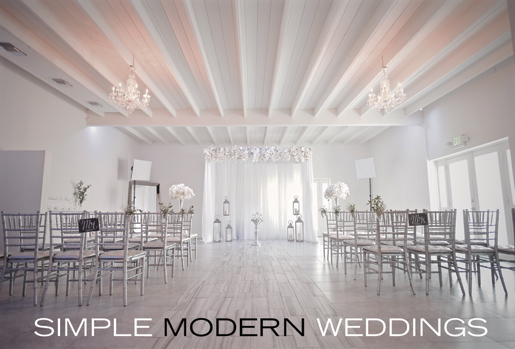 Albertson Wedding Chapel performs simple modern weddings