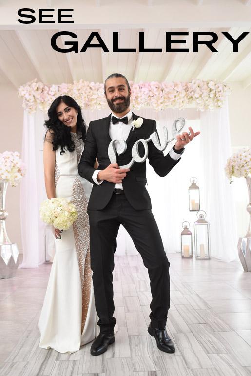 civil wedding couple marries at Albertson Wedding Chapel