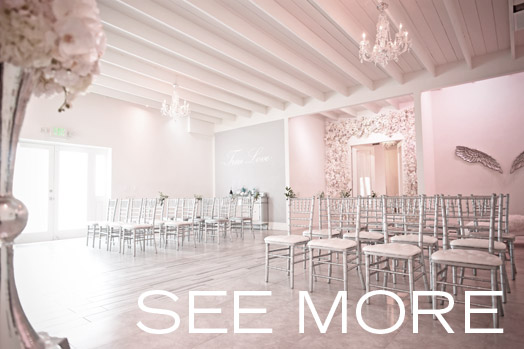 See the back view of Albertson Wedding Chapel in Los Angeles