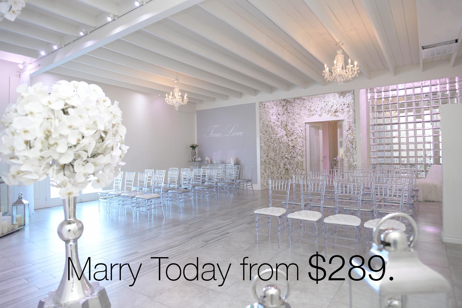 Albertson Wedding Chapel in Los Angeles affordable wedding ceremonies on La Brea Ave