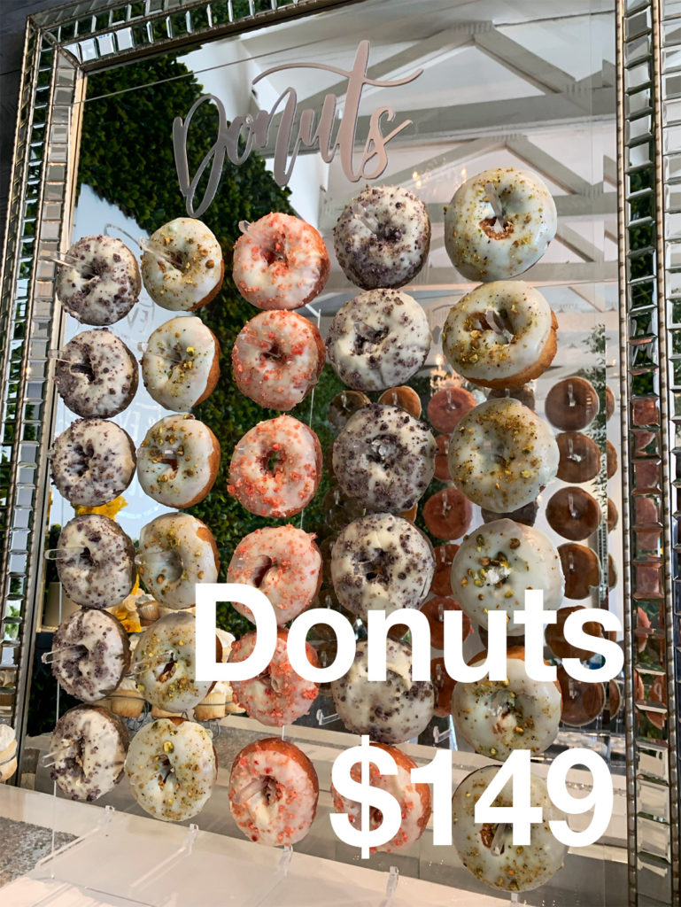 civil wedding donuts