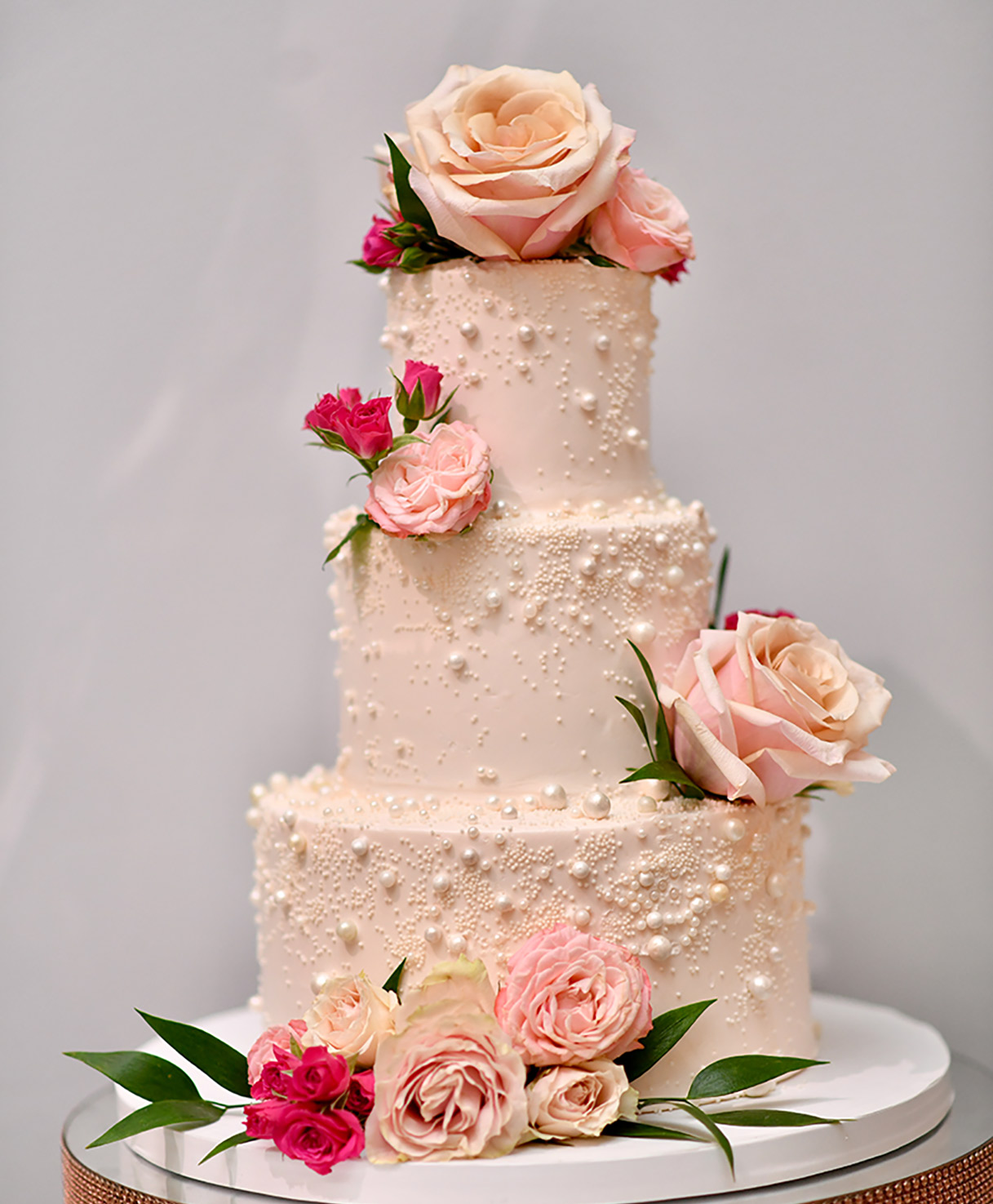 wedding reception cake for the packages