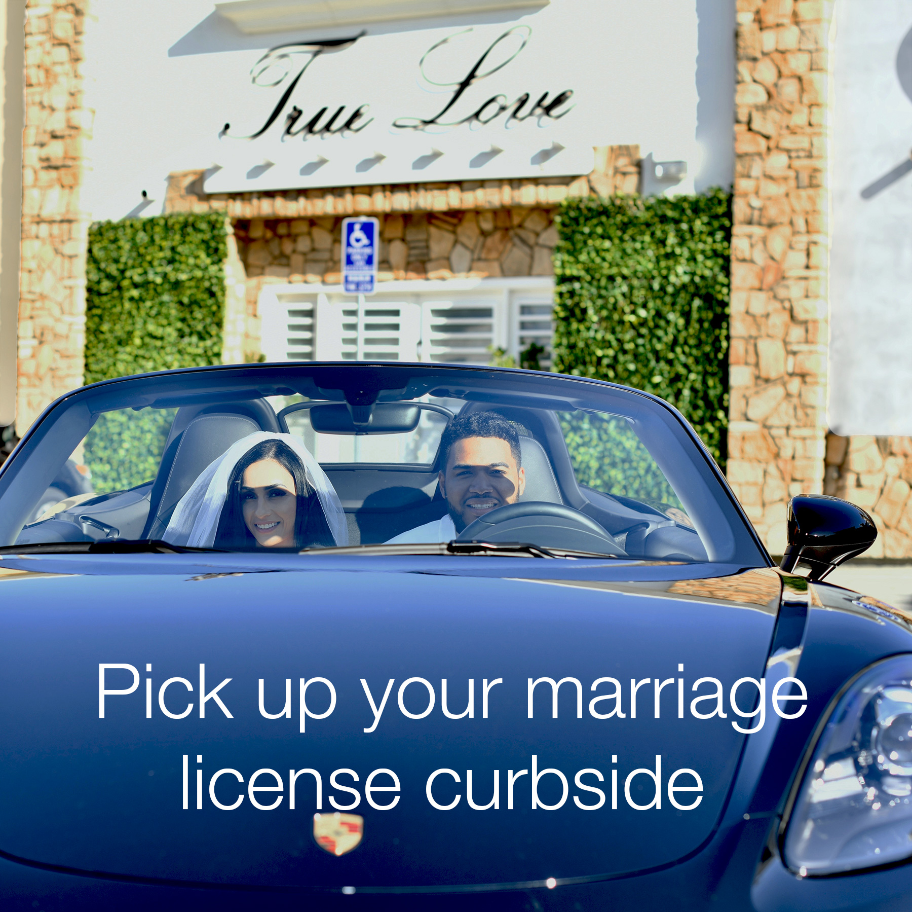 contactless marriage in los angeles