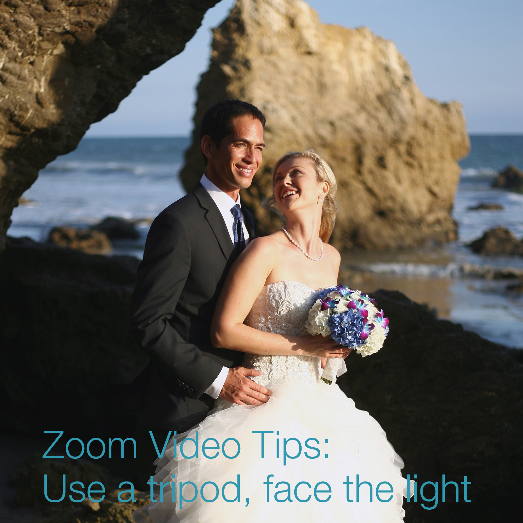 zoom weddings in los angeles covid