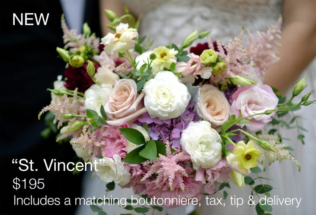 albertson wedding bouquets st vincent bouquet