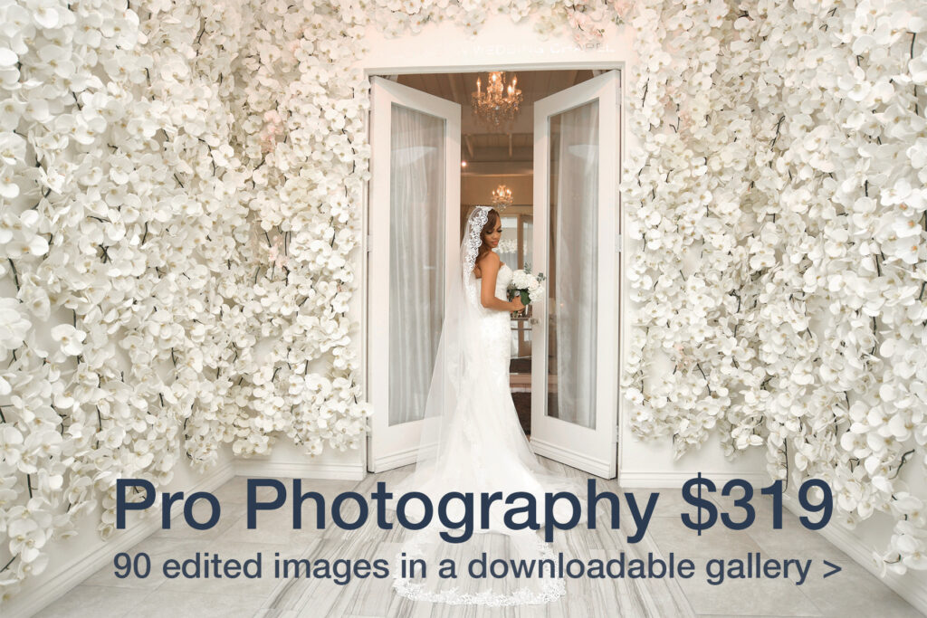 Albertson Wedding Chapel pro photography at affordable prices
