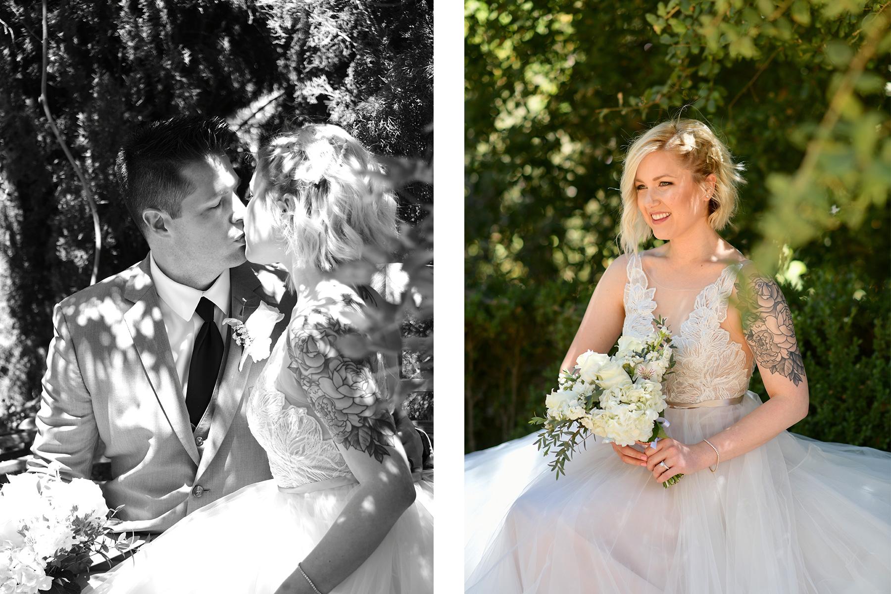 albertson wedding chapel outdoor wedding photography